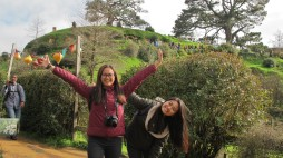 Clearly.. My cousins are enjoying Hobbiton